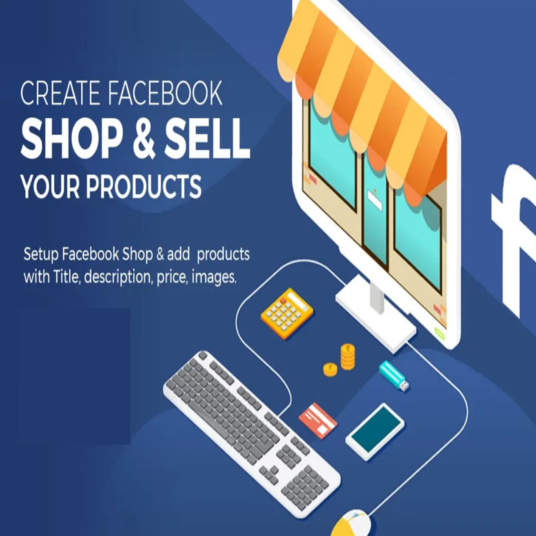 I will Setup Facebook Shop or Store And Add Products