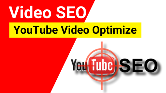 Be Your Youtube Video SEO Specialist For YouTube Ranking