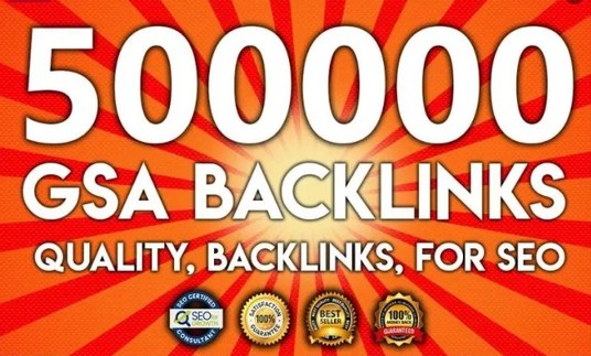 I will do 500,000 Gsa, Ser, Backlinks For Ranking Website, youtube