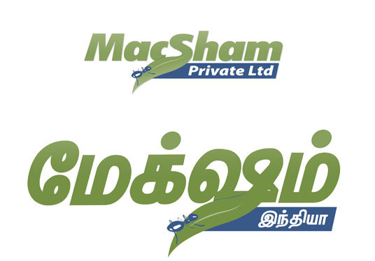 I will convert your English logo into Tamil, Arabic, other language version logo