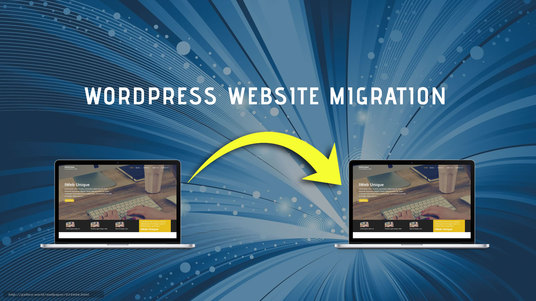 migrate or transfer existing wordpress website to new domain
