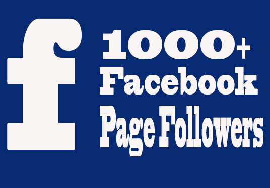 Add 1000+ Non-Drop Facebook Page Followers