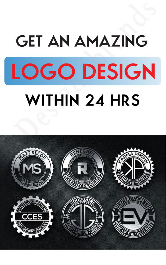 I will Design creative 3D Logo design with Copyrights