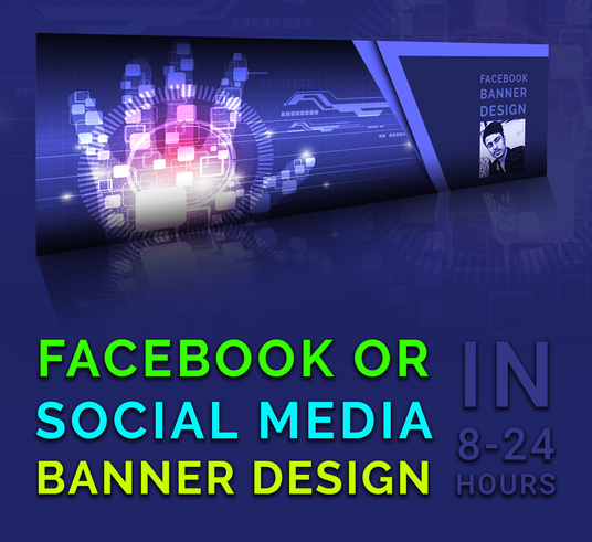 I will Create A Facebook Cover Photo Banner Design