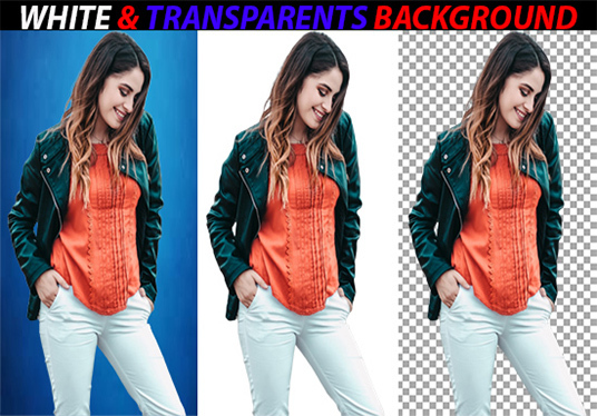 I will remove background, white & transparent  of 30 images