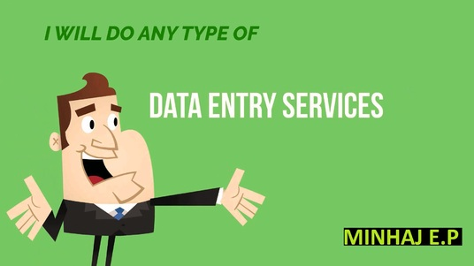 do Data Entry or Excel Entry, and all types of Virtual Assistant jobs