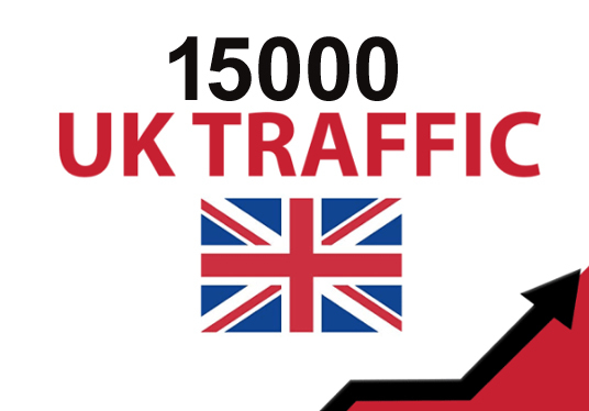 I will send 15000 Website Traffic UK Targeted