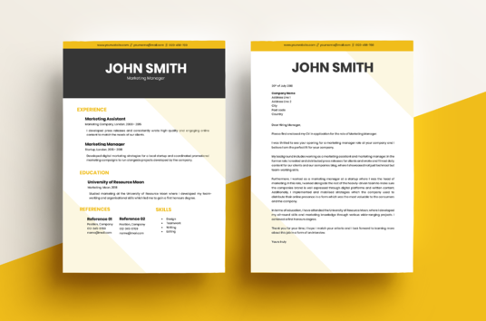 I will create a professional CV or Resume with Cover Letter