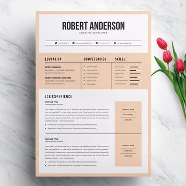 create a professional CV or Resume with Cover Letter