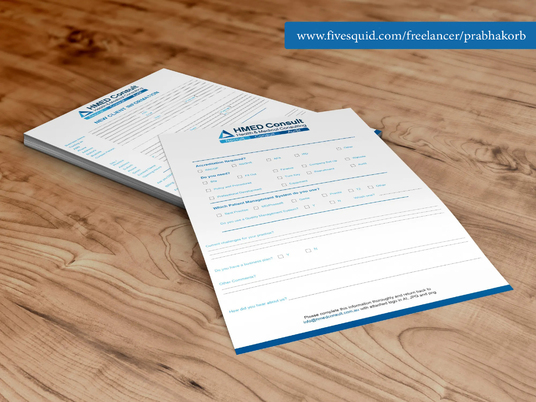 I will Design Your PDF Form And Make It Fillable