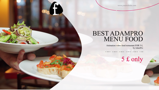 Create Food Promo Video For Your Restaurant Business