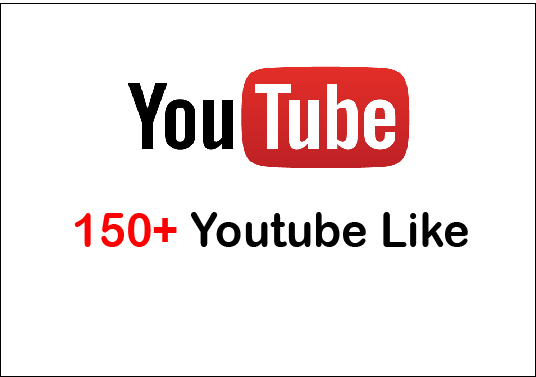 I will give Youtube Lifetime guranteed 150+ Video Like