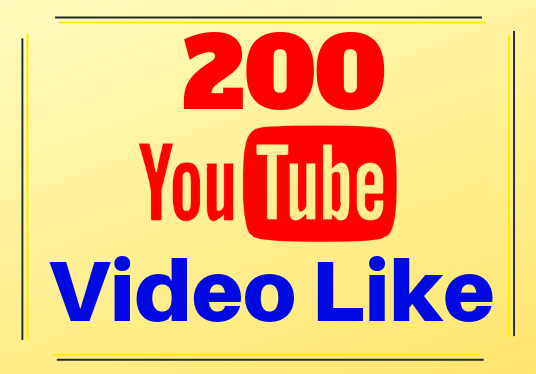 I will provide 200 YouTube video likes, refill guaranteed  and fast delivery