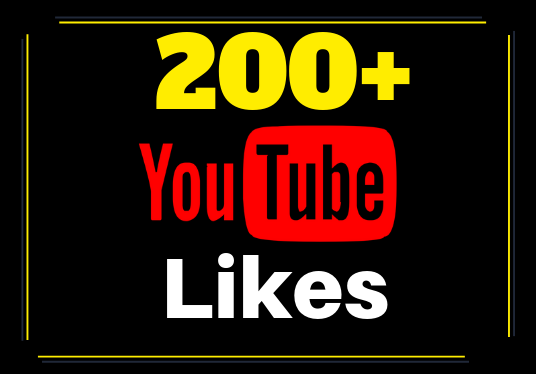 I will Provide 200 Youtube Likes to your Video