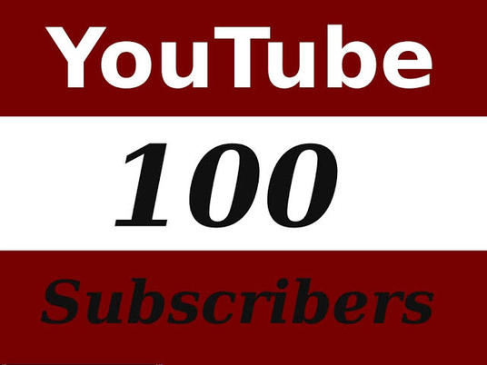 I will Provide Active 100+ Youtube Subscriber