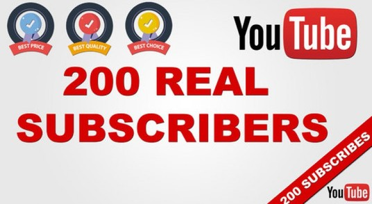 I will Deliver Organic 200+ YouTube Subscribers