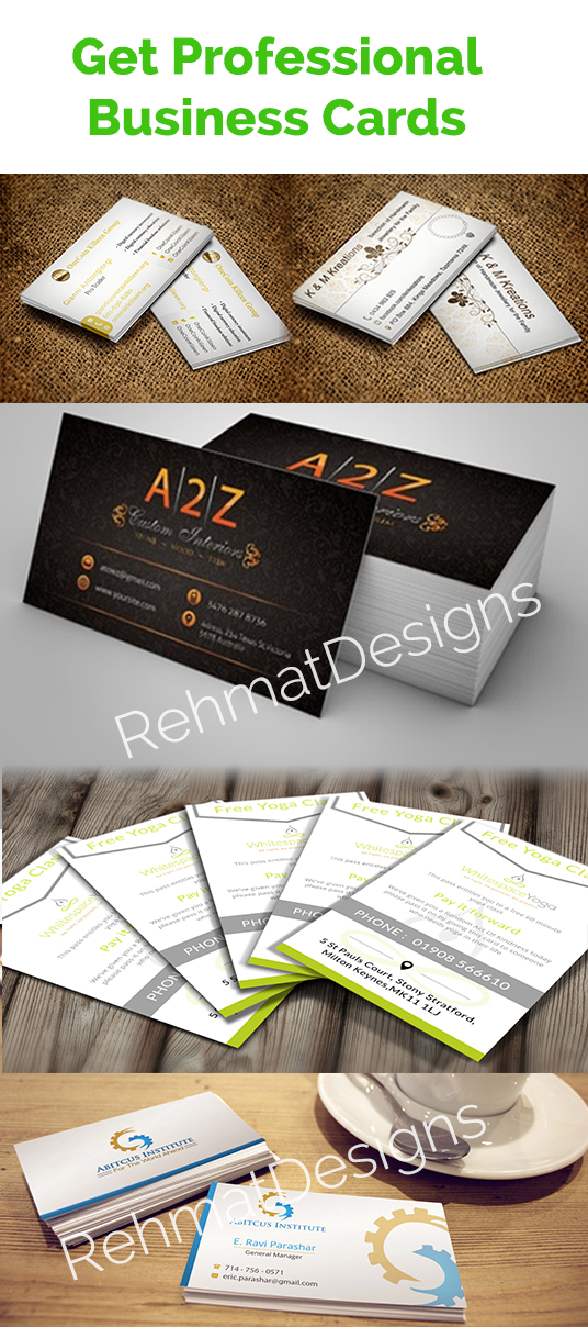 I will create business card professionally
