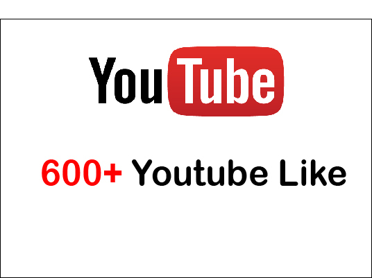 I will give 600+ Youtube Guranteed Video Like