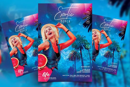 Do Professional Party, Event, Sports Flyer Poster