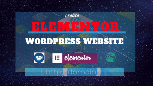I will do Wordpress Website Design Using Elementor Pro