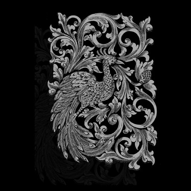 draw detailed ornamental artwork for you