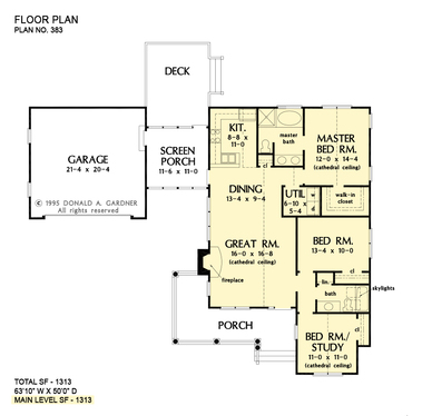 Create any architectural floor plan