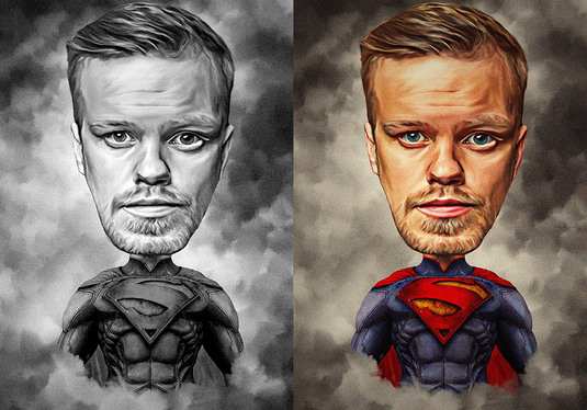 Create Cartoon Caricature From Your Photo