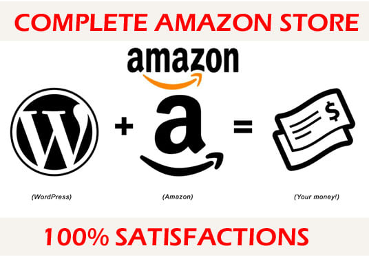 I will Create Amazon Affiliate Website And Do SEO