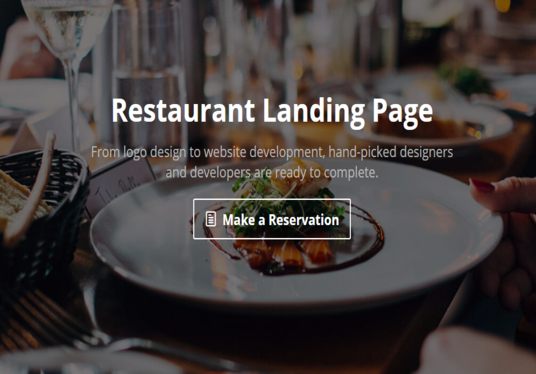 I will Design Landing Page