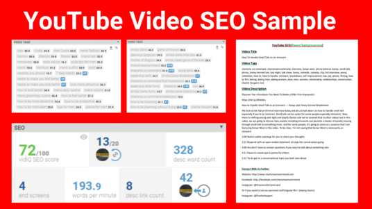 Optimize Your Youtube Channel SEO As A Certified Expert