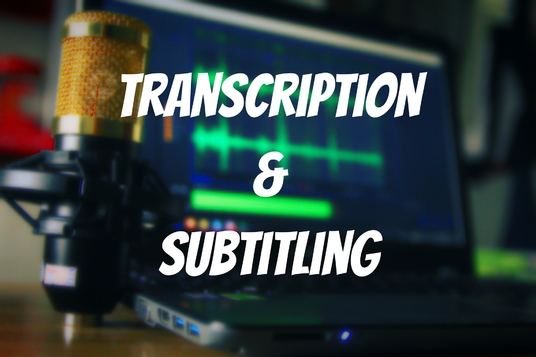 produce a high quality transcript or subtitles for up to 5 minutes of audio