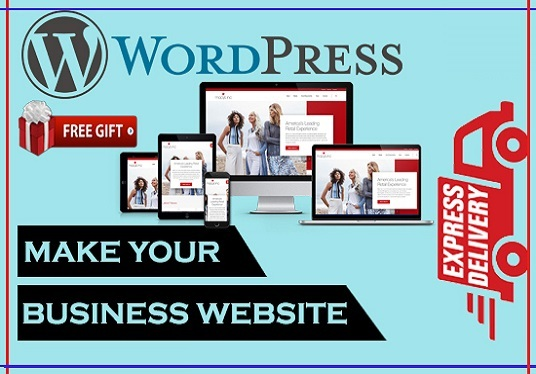 I will Create A Professional WordPress Business Website