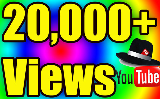 I will Give you 20,000 Youtube Views
