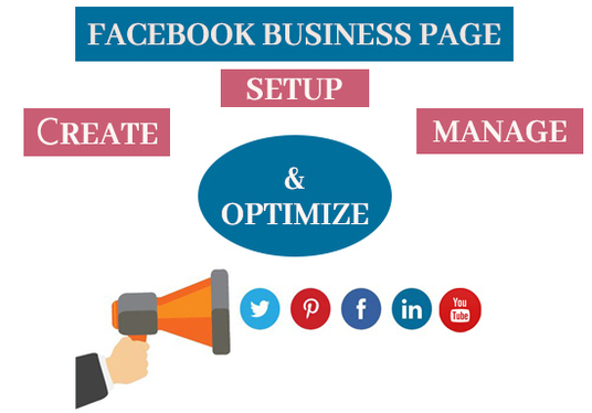 I will Create Facebook Business Fan Page And Optimize