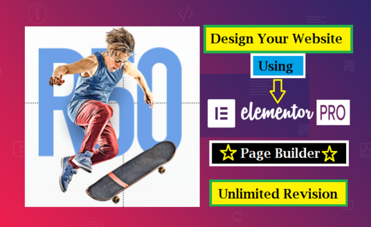I will Create A Responsive Wordpress Website Using Elementor Pro