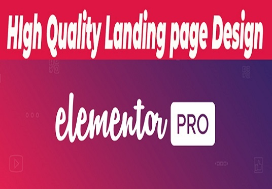 I will Design Wordpress Landing Page Using Elementor Pro In 24 Hours