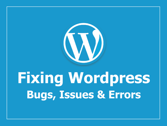 I will fix your wordpress error or bug