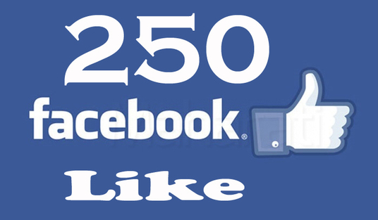 Add 250+ Real Facebook Likes