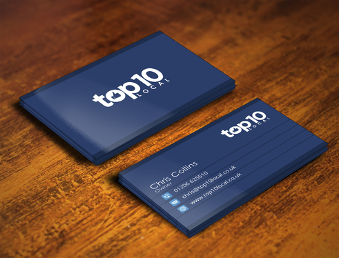 Design 2 Outstanding Business Card Design Print Ready