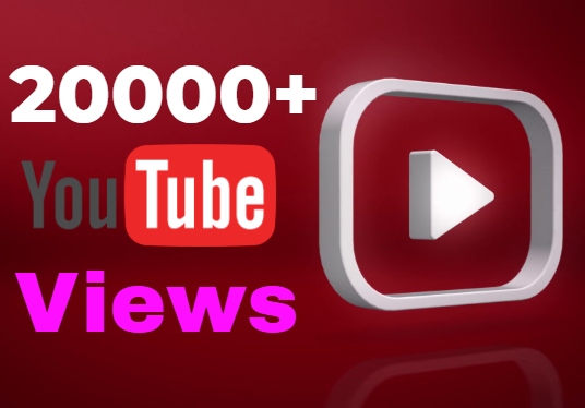 Provide You 20000 YouTube  Views