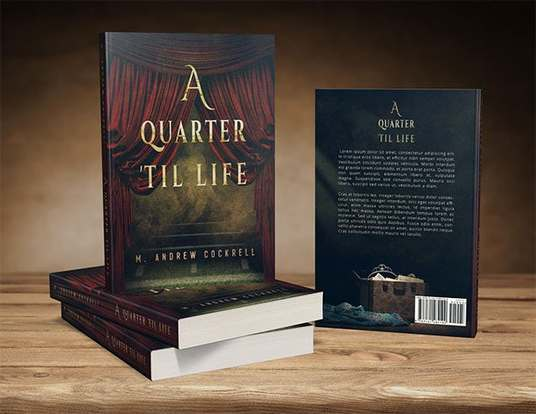 I will Design a stunning Book Cover for your Project