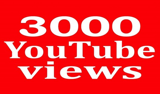 I will Boost Your Youtube Video with 3,000 Views Or 500 Likes