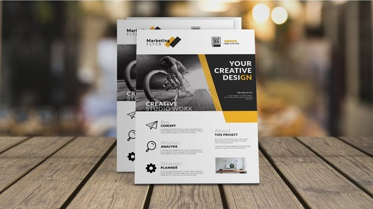 Design A Creative Professional Flyer, Poster Or Brochure