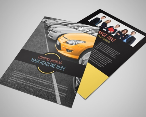 design a modern and eye-catching leaflet or flyer for your promotional needs