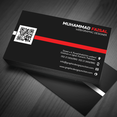 design a professional business card  for your company