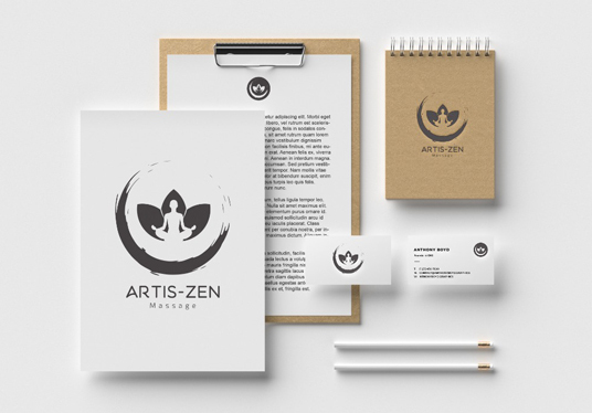 I will design Print Ready stationary
