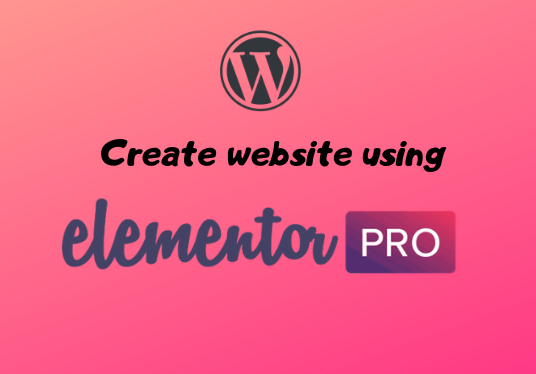 I will create a responsive website using Elementor Pro