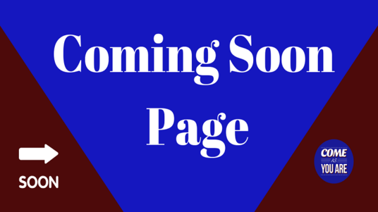 I will make an awesome coming soon page within 1 day