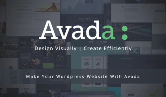 make your website with avada wordpress theme