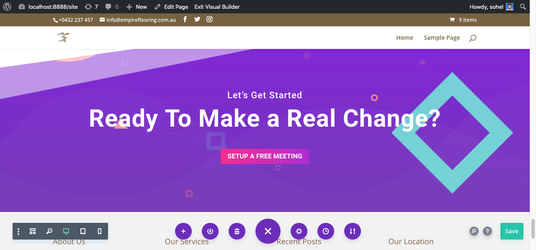 I will Make Webpage With Divi Builder